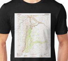 USGS TOPO Map Arizona AZ Lees Ferry 312078 1985 24000 Unisex T-Shirt