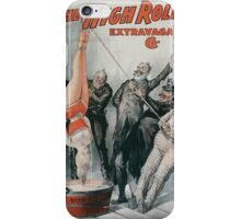 Performing Arts Posters The High Rollers Extravaganza Co 0288 iPhone Case/Skin