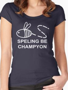 Spelling Bee Champion Women's Fitted Scoop T-Shirt
