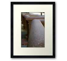 The Pots Just Keep on Going Framed Print