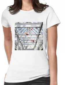Origami Butterflies Womens Fitted T-Shirt