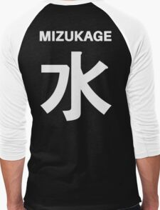 Kage Squad Jersey:  Mizukage Men's Baseball ¾ T-Shirt