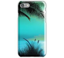 Tropical Island Palm Trees iPhone Case/Skin
