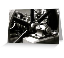 Machinery Greeting Card