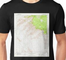USGS TOPO Map Arizona AZ Music Mountains SE 312567 1968 24000 Unisex T-Shirt