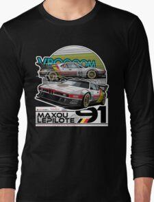 Maxou LePilote - Classic Cars  Long Sleeve T-Shirt