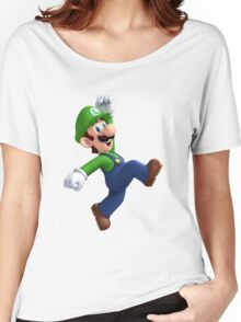 Luigi from the mario video game series Women's Relaxed Fit T-Shirt