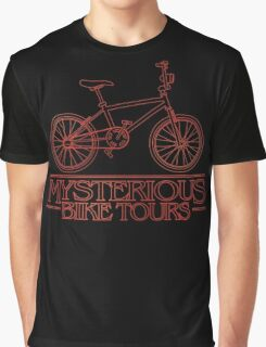 Mysterious Bike Tours Graphic T-Shirt