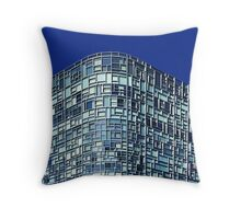 Panes in the Glass Throw Pillow