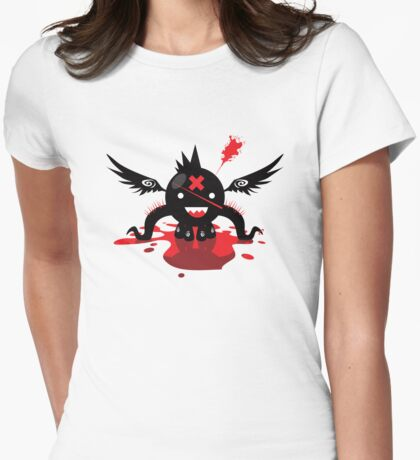 Octoblood Womens Fitted T-Shirt