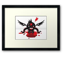 Octoblood Framed Print