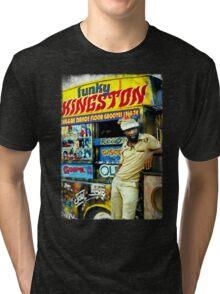 FUNKY KINGSTON Tri-blend T-Shirt