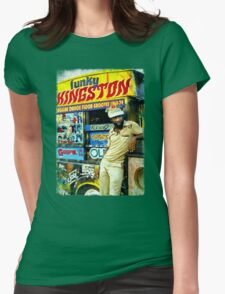FUNKY KINGSTON Womens Fitted T-Shirt