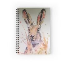 Harold Hare watercolour painting Spiral Notebook