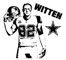 Jason Witten - Dallas Cowboys - NFL Photographic Print