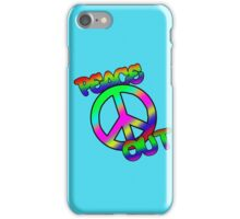 Peace Out iPhone Case/Skin