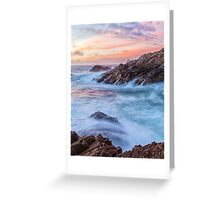 Fire On Sky Greeting Card