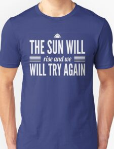 Twenty One Pilots truce typography white Unisex T-Shirt