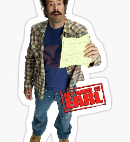 Earl Hickey | My Name Is Earl Sticker