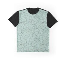 Floral Seamless Pattern Graphic T-Shirt