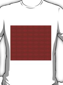 Climbing Red Roses Abstract T-Shirt