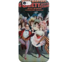 Performing Arts Posters Rice and Bartons Big Gaiety Spectacular Extravaganza Co 0313 iPhone Case/Skin