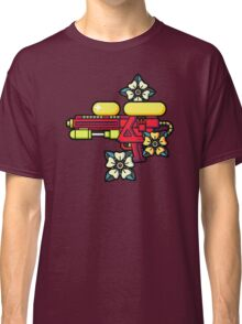 Flowers and watergun Classic T-Shirt