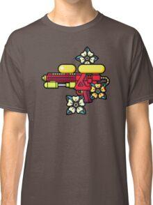 Flowers and watergun Classic T-Shirt