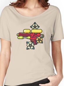 Flowers and watergun Women's Relaxed Fit T-Shirt