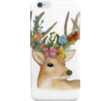 Flower Crown Deer iPhone Case/Skin