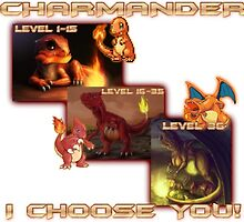 I Choose Charmander! by CrankySiamese