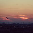 Summer Sunsets and Planes by Ruta Rudminaite