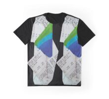 crumple Graphic T-Shirt