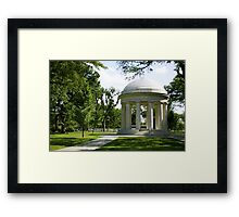 WW2 Memorial Framed Print