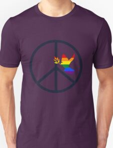 peace & love Unisex T-Shirt