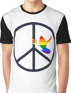 peace & love Graphic T-Shirt