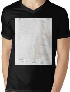 USGS TOPO Map Arizona AZ Olaf Knolls 20111129 TM Mens V-Neck T-Shirt