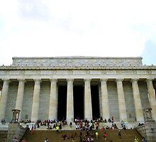 Lincoln Memorial by Cristy Hernandez