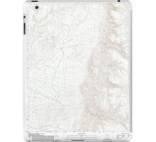 USGS TOPO Map Arizona AZ Olaf Knolls 20111129 TM iPad Case/Skin