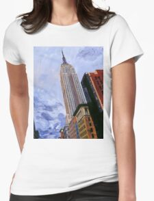 ESB, NYC Womens Fitted T-Shirt