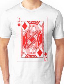 JACK OF DIAMONDS (RED) Unisex T-Shirt