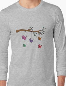 Paper Birds Long Sleeve T-Shirt