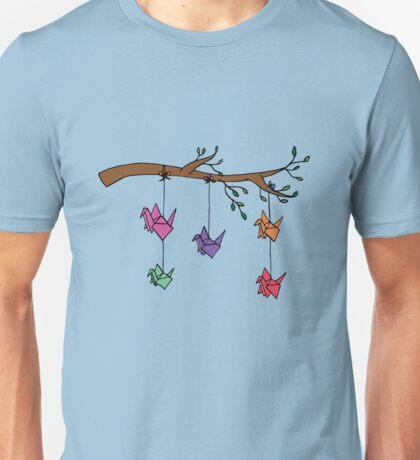 Paper Birds Unisex T-Shirt