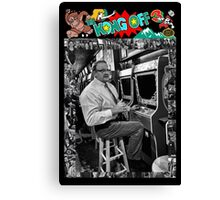Famous Donkey Kong Player Canvas Print
