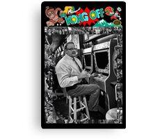 Famous Donkey Kong Player Canvas Print
