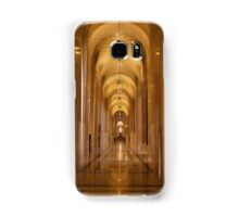 Cathedral Hallway Samsung Galaxy Case/Skin