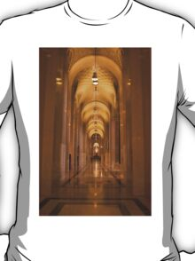Cathedral Hallway T-Shirt