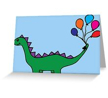 Whimsical Dino Greeting Card