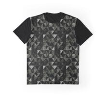 Triangular Rectilineal Graphic T-Shirt