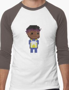 Lil Uzi Vegeta Suit Pixel  Men's Baseball ¾ T-Shirt